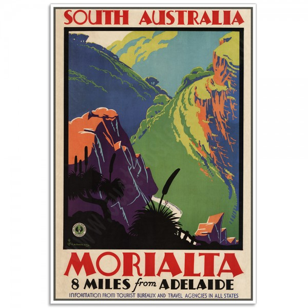 South Australia, Morialta - 8 miles from Adelaide