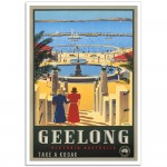 Geelong Victoria - Vintage Australian Tourism Poster