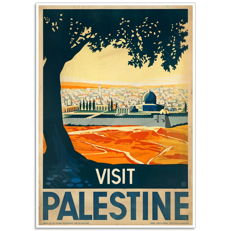Httpwww Overlordsofchaos Comhtmlorigin Of The Word Jew Html: Vintage Israeli Tourism Poster